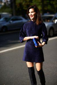 women-velvet-dresses-winter-casual-street-style-looks-2