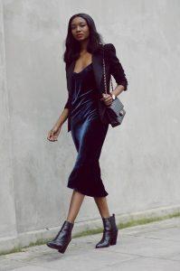 women-velvet-dresses-winter-casual-street-style-looks-3